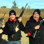 Real Gun Shooting in Prague Trip F – 8 Weapons