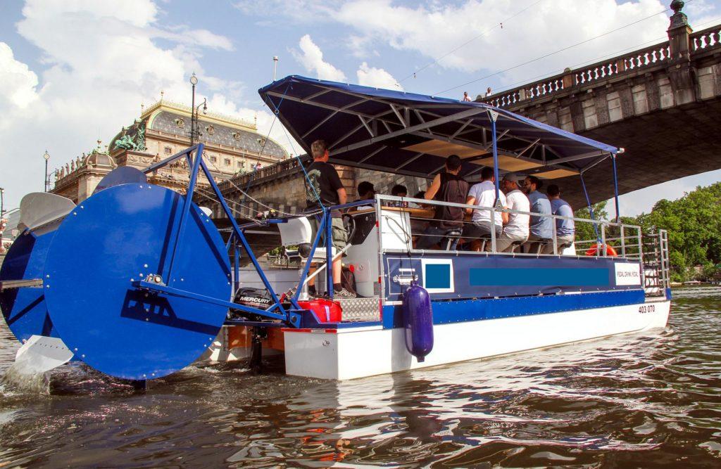 stag weekends in prague beer bike boat 3