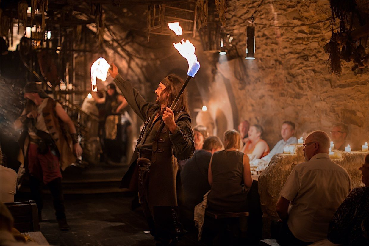 Medieval Tavern Dinner in Prague