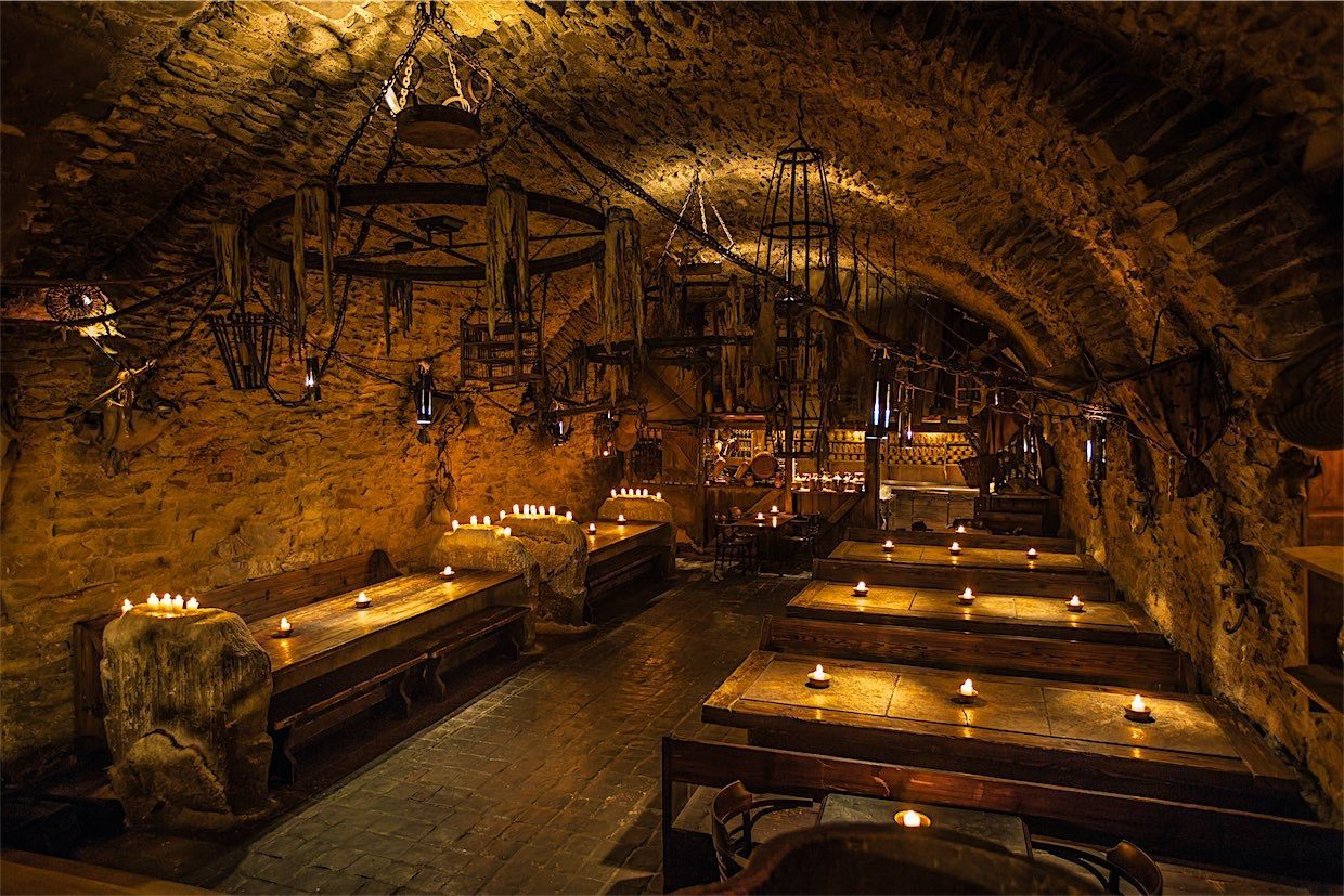 Prague Medieval Tavern New Years Eve