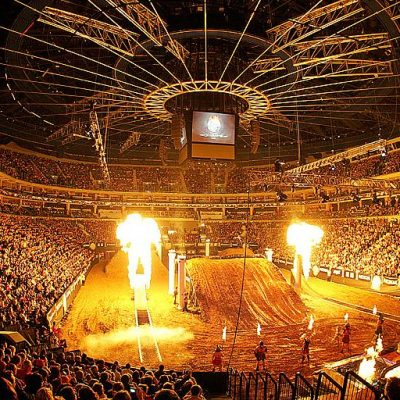 Freestyle Motocross Gladiator Games in Prague