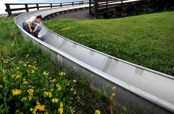 Bobsleigh in Prague