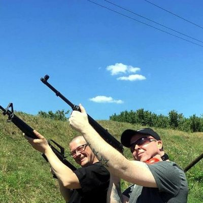 Real Gun Shooting in Prague Trip F – 8 Weapons