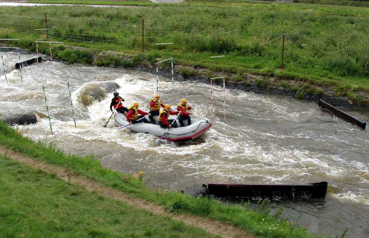 White Water Rafting in Prague