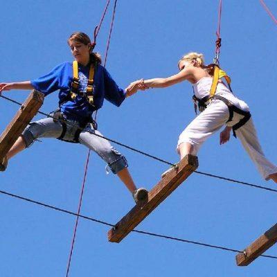 Prague High Ropes Activity