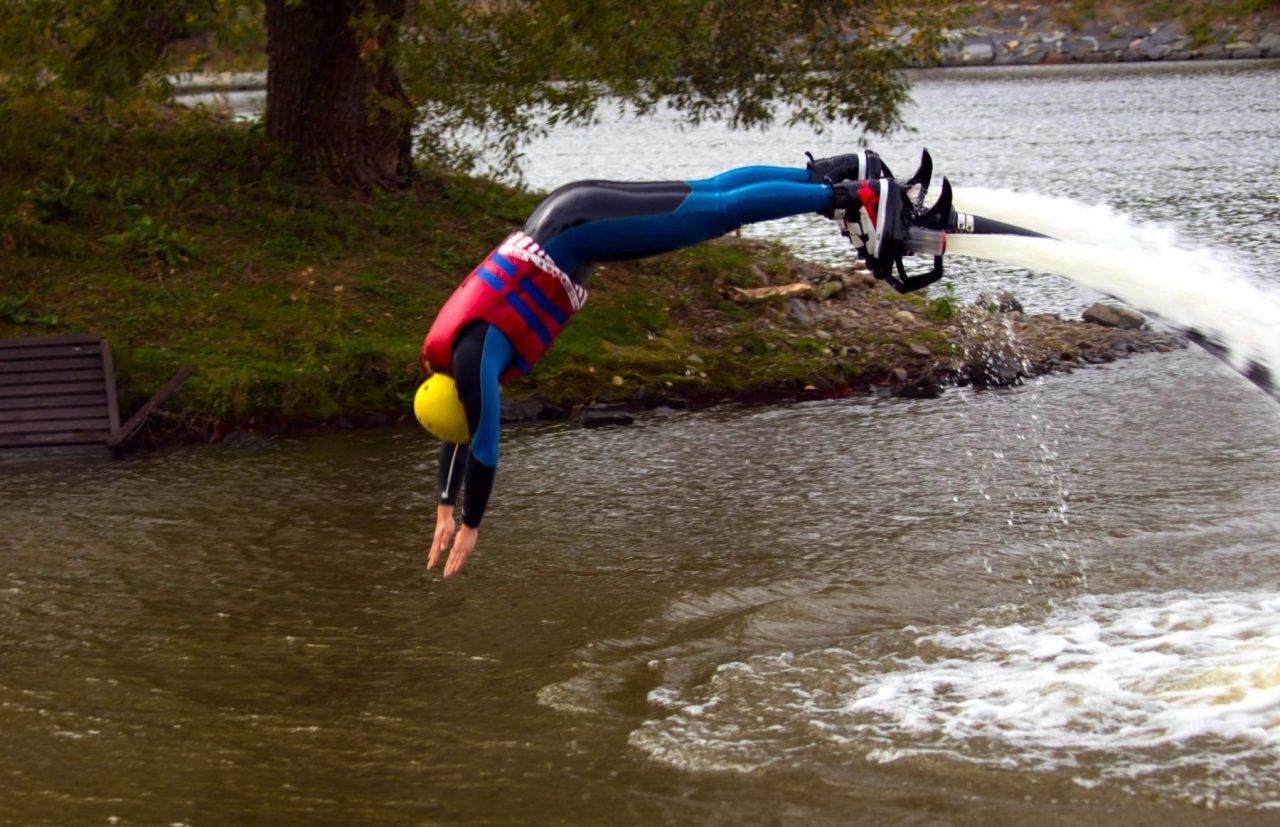 Prague Fly Boarding Water Sport