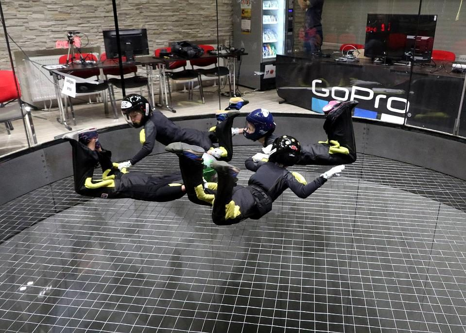 Prague Indoor Skydiving