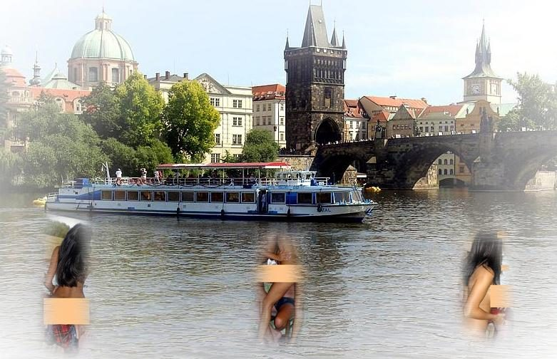 Prague Strip Boat