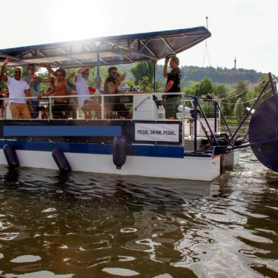 Prague Beer Bike Boat
