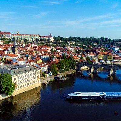 Romantic Prague River Cruise Break