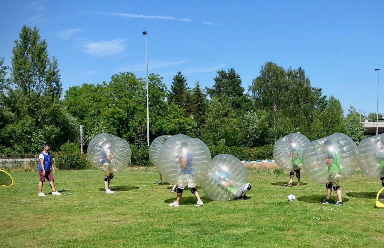 Prague Bubble Football